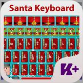 Santa Keyboard icon