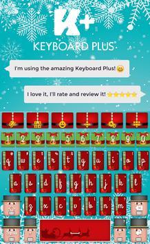 Santa Keyboard poster
