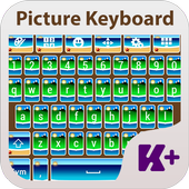 Picture Keyboard Theme icon