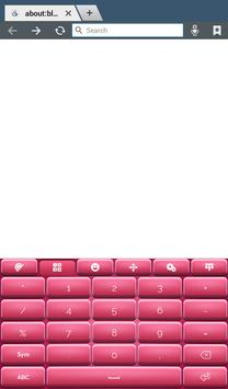 Pinky Keyboard Theme screenshot 11
