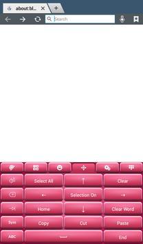 Pinky Keyboard Theme screenshot 13
