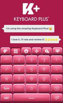 Pinky Keyboard Theme screenshot 1