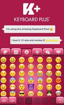 Pinky Keyboard Theme screenshot 2