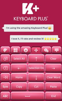 Pinky Keyboard Theme screenshot 3
