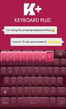 Pinky Keyboard Theme screenshot 4