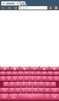 Pinky Keyboard Theme screenshot 7