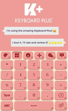 Romantic Keyboard Theme screenshot 1