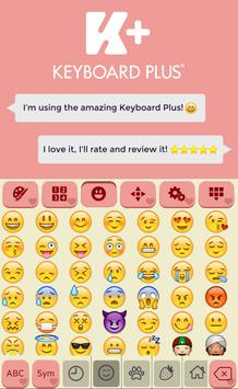 Romantic Keyboard Theme screenshot 2