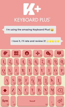 Romantic Keyboard Theme screenshot 5