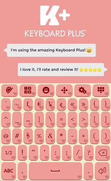 Romantic Keyboard Theme apk screenshot