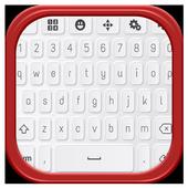Custom Resize Clean Keyboard icon