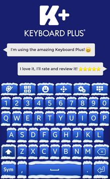 Winter Keyboard Theme apk screenshot