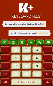 KingdomTheme Keyboard Plus apk screenshot