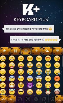 Meteor Theme Keyboard Plus apk screenshot