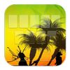 Keyboard Reggae Sunset icon