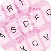Snow Flake Love Keyboard icon