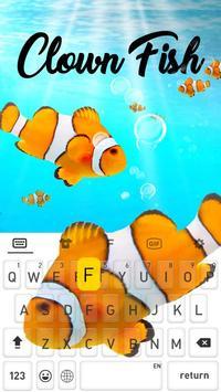 ClownFish Animated Keyboard poster