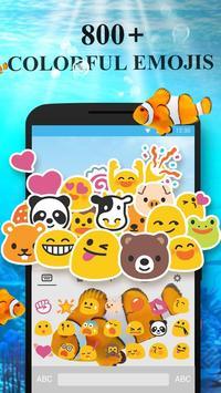 ClownFish Animated Keyboard apk screenshot