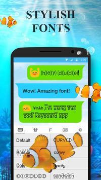 ClownFish Animated Keyboard screenshot 2