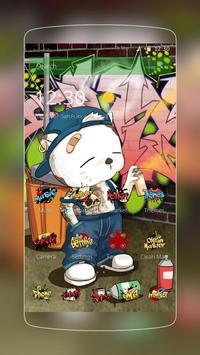 Tema Graffiti Keren Kartun poster