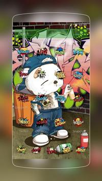 Tema Graffiti Keren Kartun apk screenshot