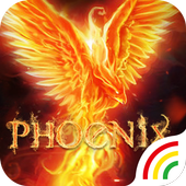 Flame Phoenix Keyboard Theme for Android icon
