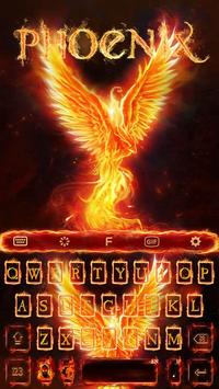 Flame Phoenix Keyboard Theme for Android poster