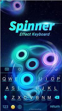 Fidget Spinner Keyboard Theme poster