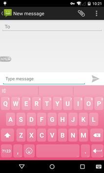 Emoji Keyboard - Macaron Pink poster