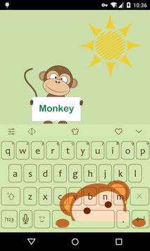 Emoji Keyboard-Monkey poster