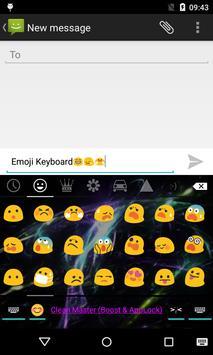 Emoji Keyboard-Neon Light apk screenshot
