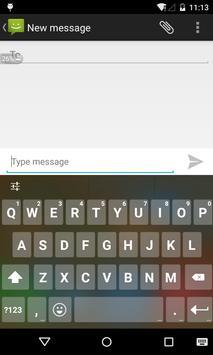 Emoji Keyboard - Black Flat screenshot 1