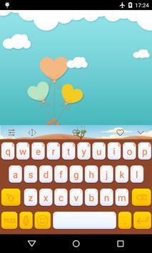 Emoji Keyboard-Cute Baby poster