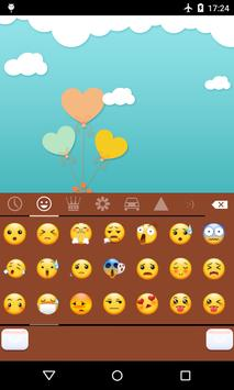 Emoji Keyboard-Cute Baby apk screenshot