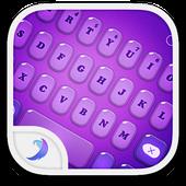 Emoji Keyboard-Candy Purple icon