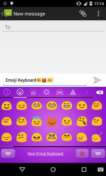 Emoji Keyboard-Candy Purple screenshot 2