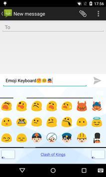 Emoji Keyboard-China Flower apk screenshot