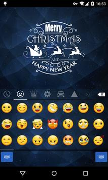 Emoji Keyboard-Christmas Eve screenshot 1