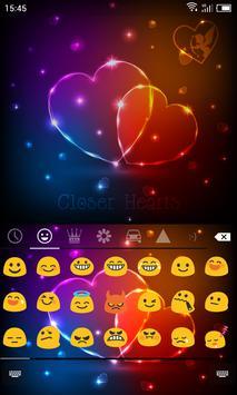 Emoji Keyboard-Closer Heart apk screenshot
