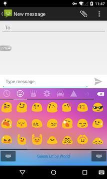 Emoji Keyboard - Dream Color apk screenshot