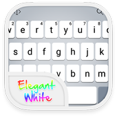 Emoji Keyboard - OS9 White icon