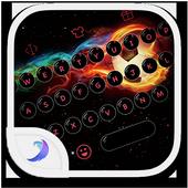 Emoji Keyboard-Fiery Football icon