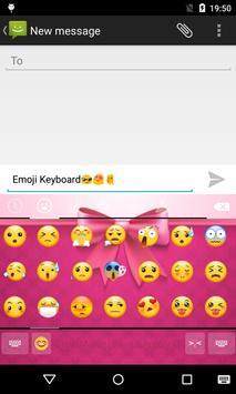 Emoji Keyboard-Gift apk screenshot