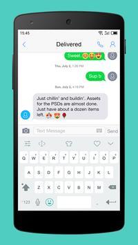 Emoji Keyboard-Gracy White poster