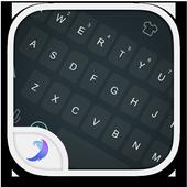 Emoji Keyboard-Gray Tone icon