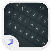 Emoji Keyboard-Gray Tone icon