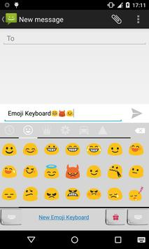 Emoji Keyboard-Letter Paper screenshot 1