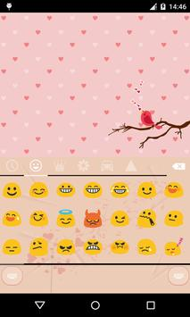 Emoji Keyboard-Love of Music apk screenshot