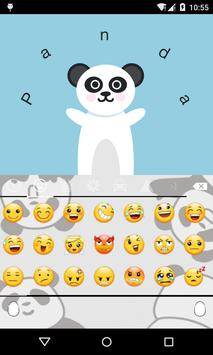 Emoji Keyboard-Panda apk screenshot