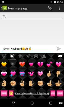 Emoji Keyboard-Pink Memory apk screenshot